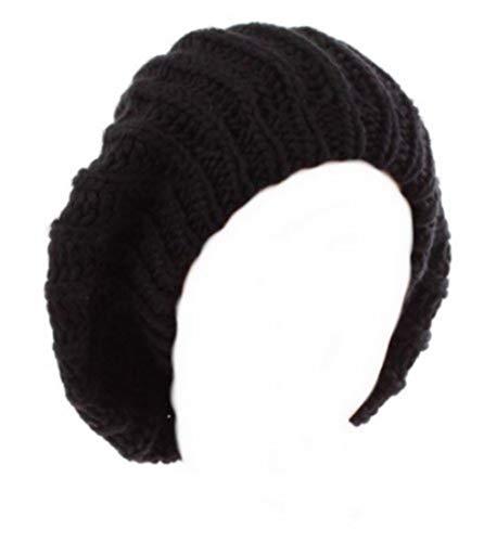 Bonnet Oversize Fashion Wear - Coloris Noir - Tendance Mixte Collection Automne-Hiver