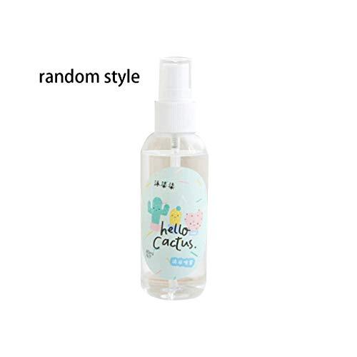 JunYe 1 Flasche 80 ml Frauen Sommer Kühl Spray Reise Tragbare Student Gesichtsnebel Feuchtigkeitsspendende Erfrischende Hautpflege Sonnenstich Prävention Geschenk