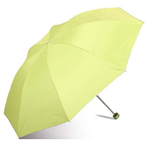JUNDY Regenschirm Taschenschirm Winddicht Kompakt Leicht Stabiler Schirm Transportabel Reiseschirm Geschenktüte UV-Schutz Sonnencreme Sonnenschirm colour9 98cm