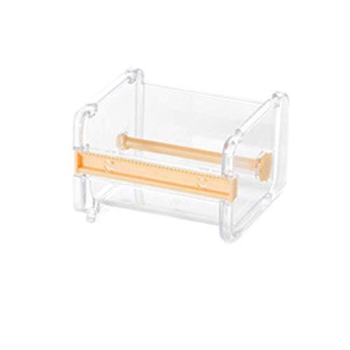 Rainbabe Tischabroller Klebebandabroller Set mit Washi Tape für DIY Handwork Kunststoffband Cutter Papierband Cutter Band
