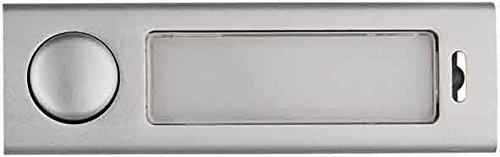Elcom Antivandal-Kombitaster AV2-Taster EV1 eloxal Klingeldrücker 4250111890434