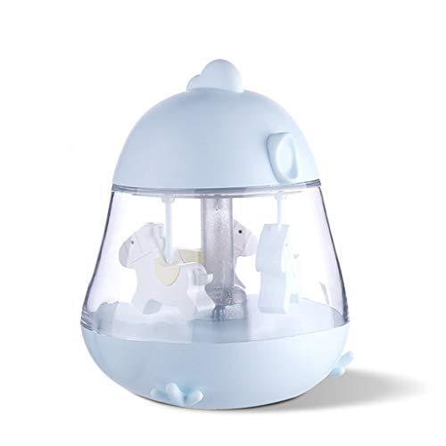 Dtuta KüKenartige Karussell-Musikleuchte Tischlampe Innenbeleuchtung Wandbeleuchtung Kinderspielzeug, Geschenke FüR Liebhaber, Souvenirs