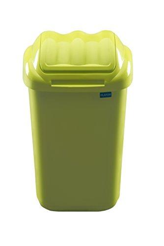 Plafor Wave cubo de basura, 50L, color verde