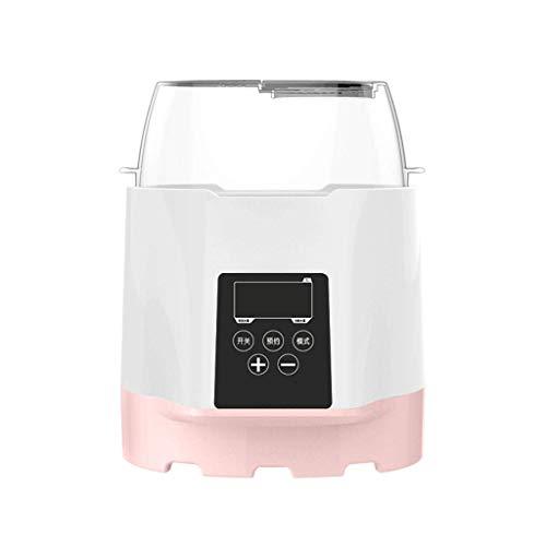 SMX Scalda biberon, sterilizzatore Bottiglia 6 in 1 Bottiglia BPA-Free più Caldo con Riscaldamento rapido, Display a LED e accurato Controllo della Temperatura