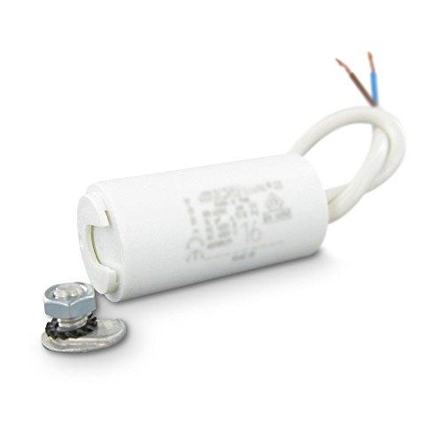 Kondensator Permanent Motor zu Kabel 12,516uF (Motor 12,5 A)