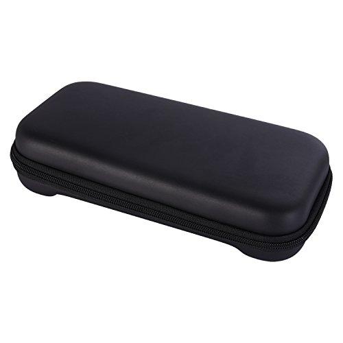 Preisvergleich Produktbild Sumind Schwarze Tragetasche Harte Reise Koffer EVA Shell Beutel Wasserdichter Beschützer Aufbewahrungsbeutel mit 8 Spielkartenhaltern für Nintendo Switch