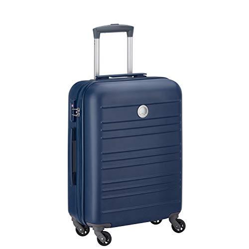 DELSEY PARIS Carlit Valigia, 55 cm, 44 liters, Blu (Bleu)