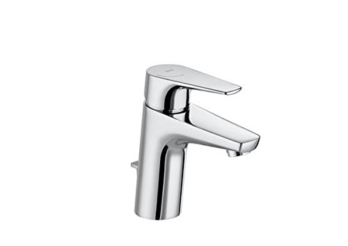 Roca A5A3090C00 – Mezclador monomando para lavabo con desagüe automático, cold start