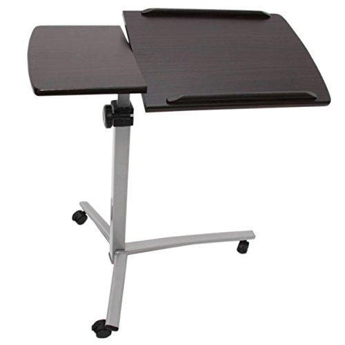 Mendler Laptop Notebook Tisch Beistelltisch, höhenverstellbar, schwenkbar