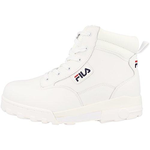 Fila Damen Grunge L Mid Women Schuhe (Schuhe Fila-weiß)