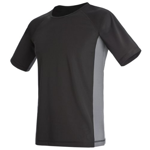 hanes-herren-sport-t-shirt-performance-track-athletik-xlarge-schwarz