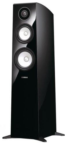 Yamaha NS-F700 Standlautsprecher (3-Wege Bassreflex-System, 160W max.) 1 Stück klavierlackschwarz -