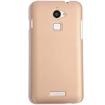 WOW Imagine™ Rubberised Matte Hard Case Back Cover For COOLPAD NOTE 3 LITE (5.0 inch) - Champagne Gold