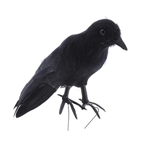 Sharplace Krähe Vogelscheuche Abschreckung Vogelabwehr (Für Vogelscheuche Halloween)