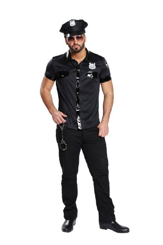 Karneval Herren Kostüm sexy Polizist verkleiden an Fasching Gr.50