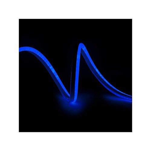 Manguera de LEDs Neon Flex 80 LEDs/M 8W/M 24VDC IP66 Azul