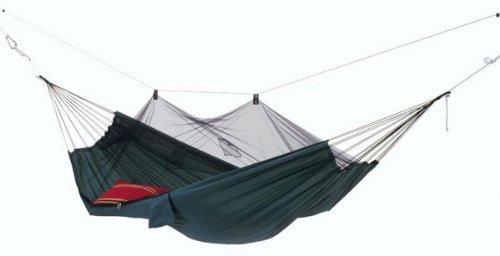 Amazonas AZ-1030200 Amaca da viaggio con zanzariera, portata maximum 150 kg, superficie 220x140 cm