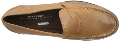 Rockport Classic Loafer Penny, Mocassins homme Marron (Caramel)