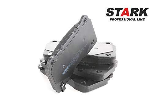 STARK SKBP-0011040 Bremsbelagsatz, Scheibenbremse Scheibenbremsbelage, Bremssteine, Bremsklötze Vorne