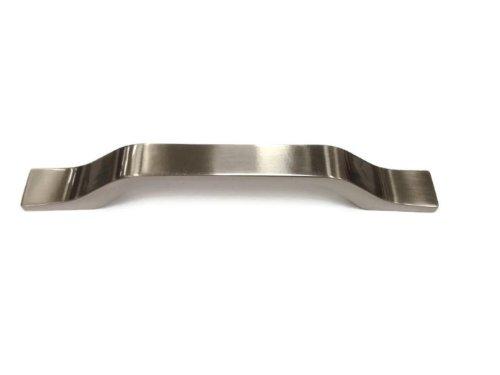Finesse FF85228BN - Maniglia in nichel spazzolato, 128 mm