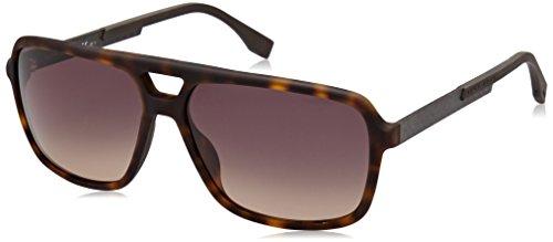 Hugo Boss Herren Sonnenbrille Boss 0772/S R4 Hxf, Schwarz (Dkhvn Carbon/Grey Green Sf), 60
