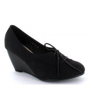 Chaussure Bas Prix - Bottines femme noires - 998-100 Noir
