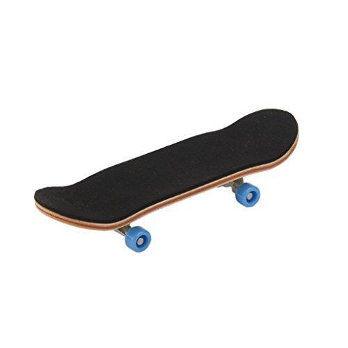 Fengh Mini Holz Finger Skateboard Skate Board Games Kinder Geschenk
