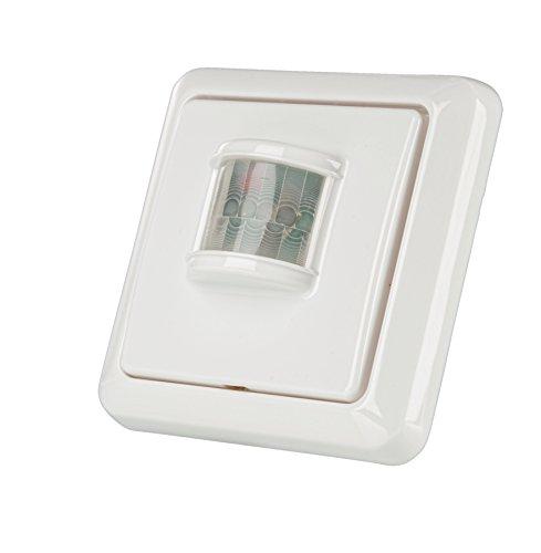 Trust 77013 Sensor de Movimiento inalámbrico para Interior, 1.5 V, Blanco
