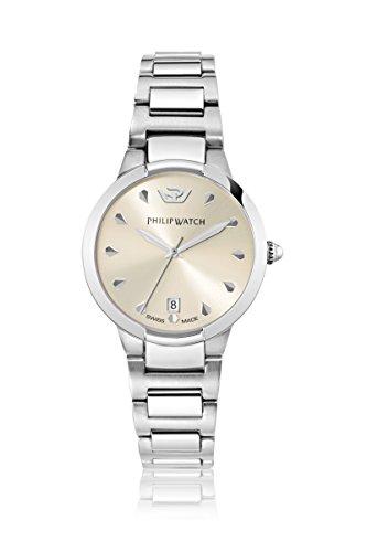 Philip watch de mujer-reloj analógico de cuarzo de acero Corley R8253599510