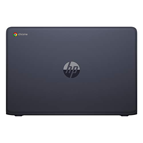 HP - Chromebook 14-db0003nf - PC Portable - 14'' Full HD IPS - Bleu foncé (AMD A6-9220, RAM 4 Go, eMMC 64 Go, AMD Radeon R4, Chrome OS) + AZERTY