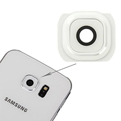 ACUTAS New Camera Lens Cover For Samsung Galaxy S6 - White