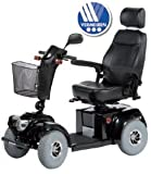 Scooter electrique senior Ceres 4 roues noir