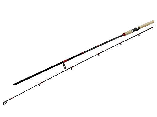 SeMa Sports & Outdoor Angelrute, leichte Spinnrute 2,1 Meter - Wurfgewicht 10 bis 30 Gramm