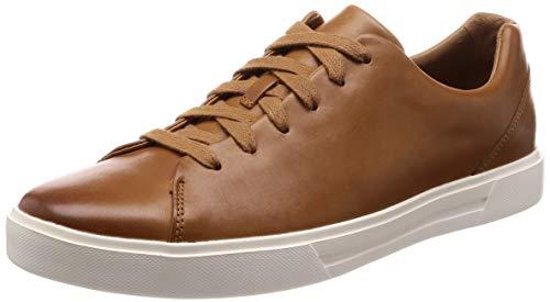 Clarks Un Costa Lace, Zapatos de Cordones Derby para Hombre, Marrón Tan Leather, 42 EU