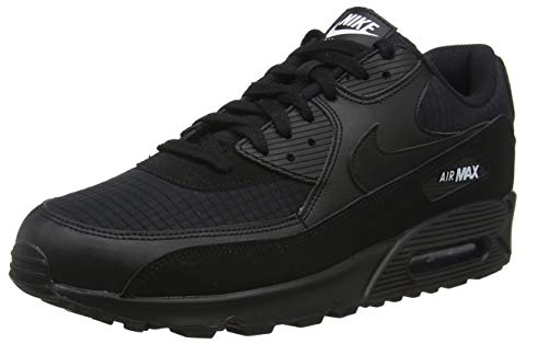 Nike Air Max 90 Essential, Scarpe da Ginnastica Uomo, Nero (Black/White/Cool Grey/Anthracite 018), 41 EU