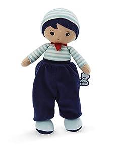 KALOO- Tendresse - Mi Primera muñeca de Tela Lucas K 25 cm, Color Azul (Juratoys K962097)
