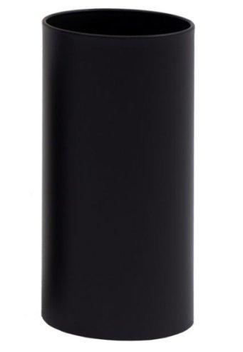 G-pro line design corbeille à papiers pieno graepel acier noir laqué taille l : 20 x h - 10) 33 l