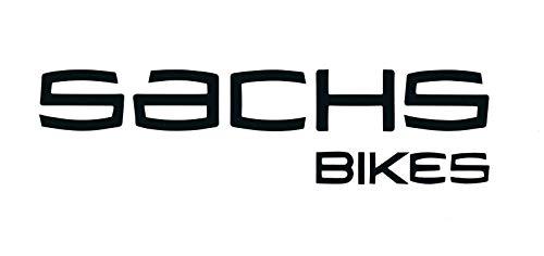 myrockshirt Sachs Bikes Schriftzug Logo ca 20 cm Mofa Moped Roller Aufkleber,Sticker,Decal,Autoaufkleber,UV&Waschanlagenfest,Profi-Qualität