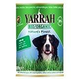 Yarrah Nasshundefutter Rind in Soße Bio 6 x 820g