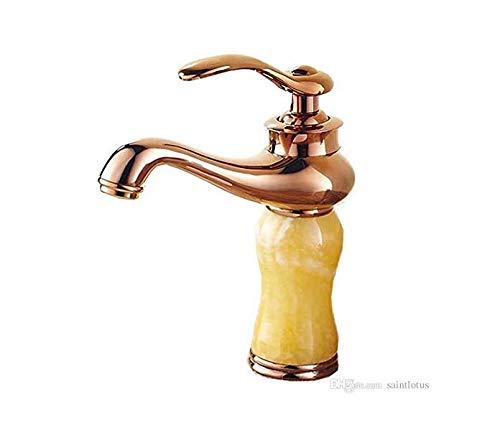 Wasserhahn Badewanne Waschtischarmaturen Gold Finish Einhebel-Becken Wasserhahn Deck Berg Waschtischmischer Wasserhahn Für Bad Torneiras -