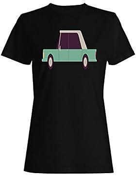 Vieja novedad del coche de los coches del vintage divertida camiseta de las mujeres a862f