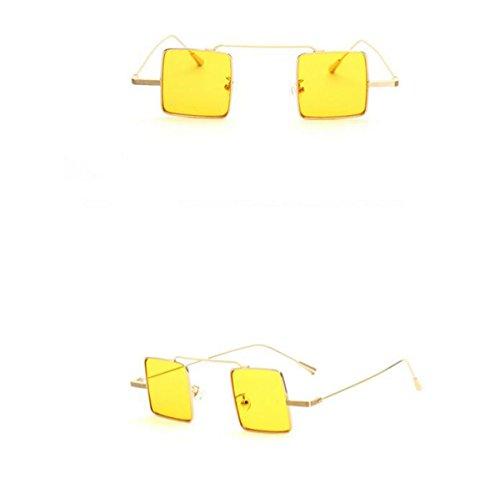 Sport-Art Polarisierte Sonnenbrille-Fahrer-Gläser mit unzerbrechlichem Rahmen Splitterfestes Anti-Kratzer für Mans u. Frauen-einen.Kreislauf, der das Fischen fährt, das Golf wandert ( Color : Gold+yellow ) (Geeks Und Nerds Fancy Dress)