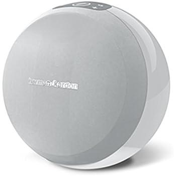 Harman-Kardon OMNI 10 Drahtloser HD-Lautsprecher Wireless WiFi Lautsprechersystem mit Bluetooth und Firecast Technologie für Multikanal/Multigerät Surroundsound Streaming - Weiß