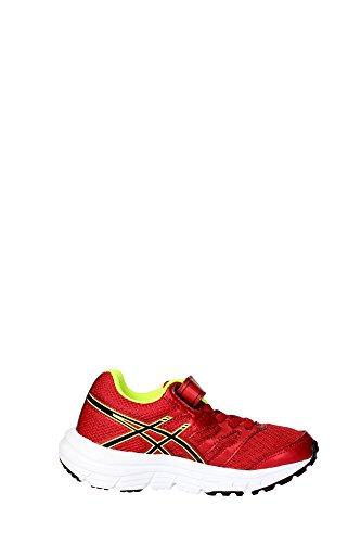 Asics Junior Gel-Zaraca 4 PS Chaussure De Course à Pied Rouge - Rouge