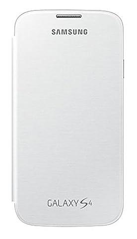 Samsung EF-FI950BWEGWW Etui rabat pour Samsung Galaxy S4 Blanc