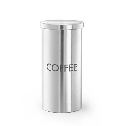 Zack 24017 Cera Kaffeedose mit Aromadeckel, Edelstahl matt