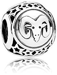 Pandora 925er Sterlingsilber Sternzeichen Charm Widder 791936