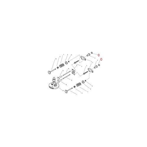 moteur-parsun-26cv-partie-arbre-a-cames-soupapes-1-ecrou-bloqueur