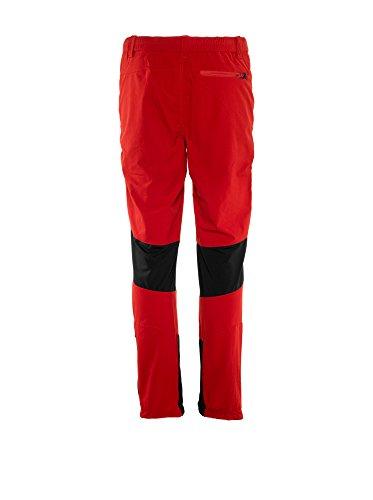 Rock Experience Orion, Pantalone elasticizzato da Trekking Uomo M13K051-RE Rosso