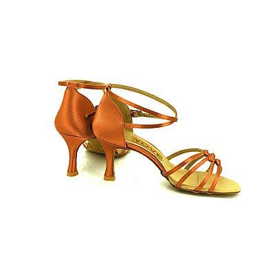 Scarpe da ballo latino Brown